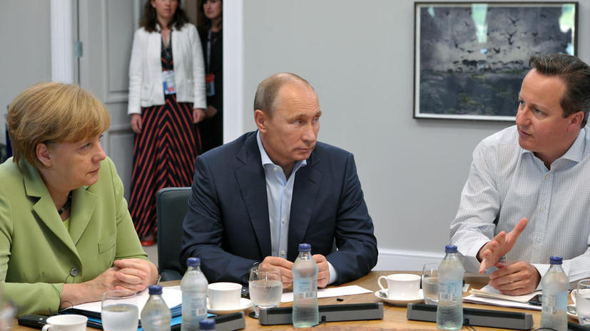 The Times: Ангела Меркель «сдала» британцам Владимира Путина в обмен на сведения об ИГ