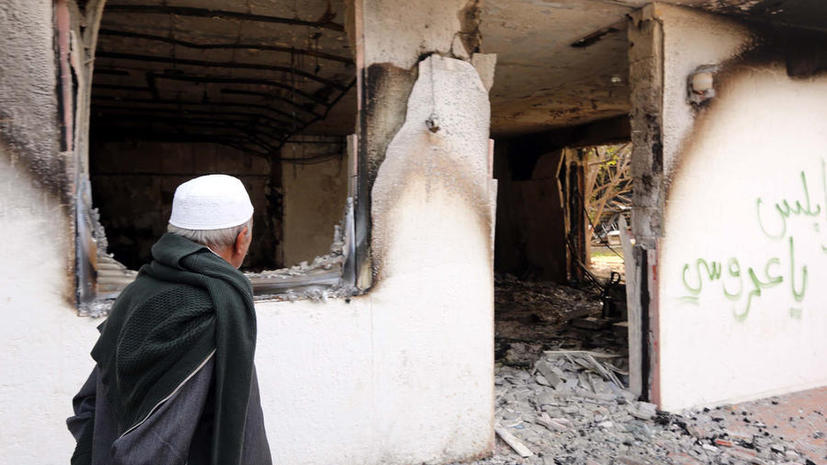 В теракте около военной базы в Ливии погибли 6 человек