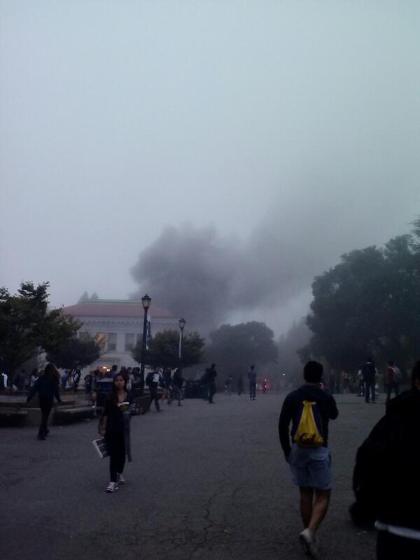 В университете Беркли в Калифорнии произошёл взрыв