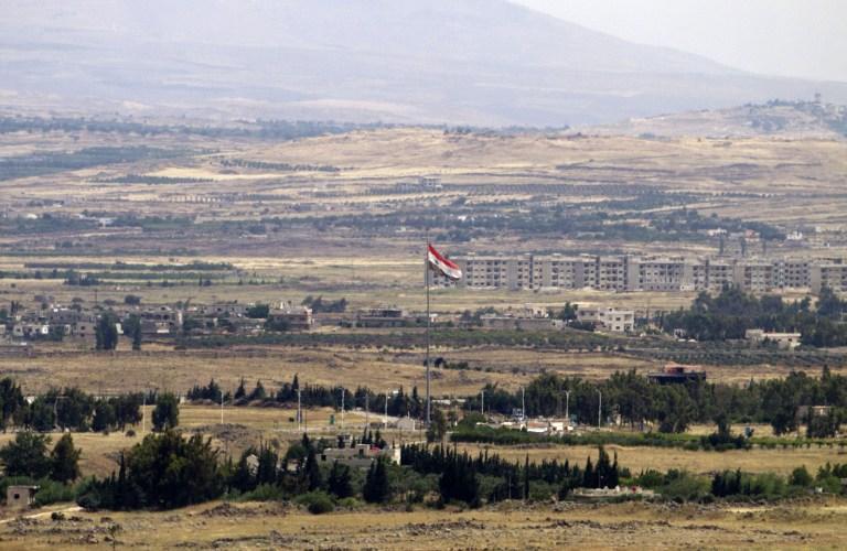 Российские журналисты попали под обстрел сирийских боевиков у Голанских высот