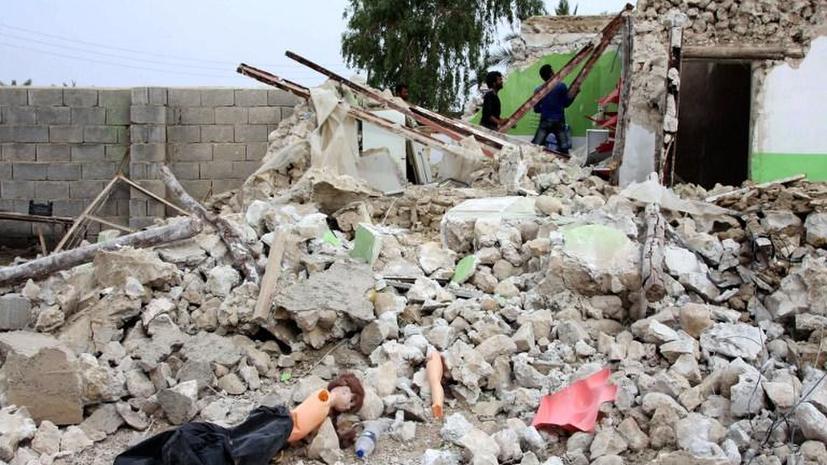 Мощное землетрясение в Иране: погибли не менее 40 человек