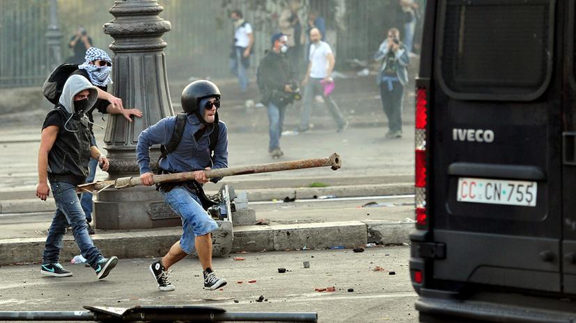 2012 год был отмечен резким ростом протестного движения в Европе