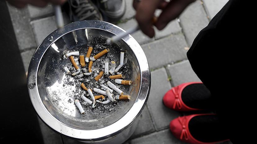В Евросоюзе запретят сигареты с ментолом