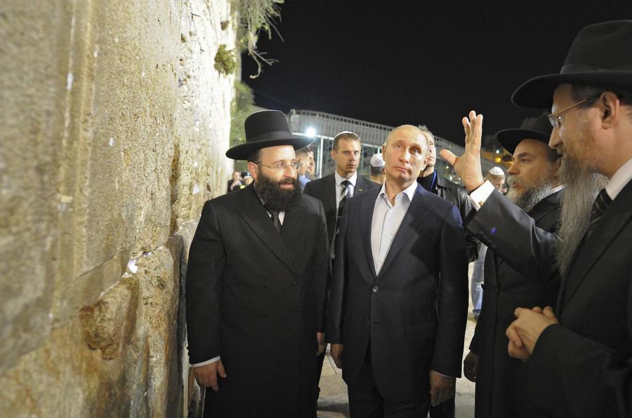 The Jerusalem Post: Израильтяне выбрали Владимира Путина человеком года