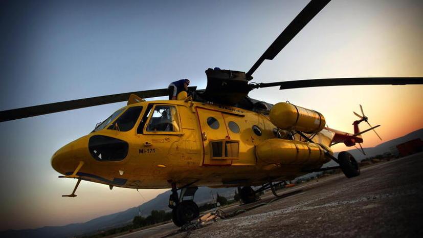 В Демократической Республики Конго найден российский вертолет Ми-8: экипаж погиб