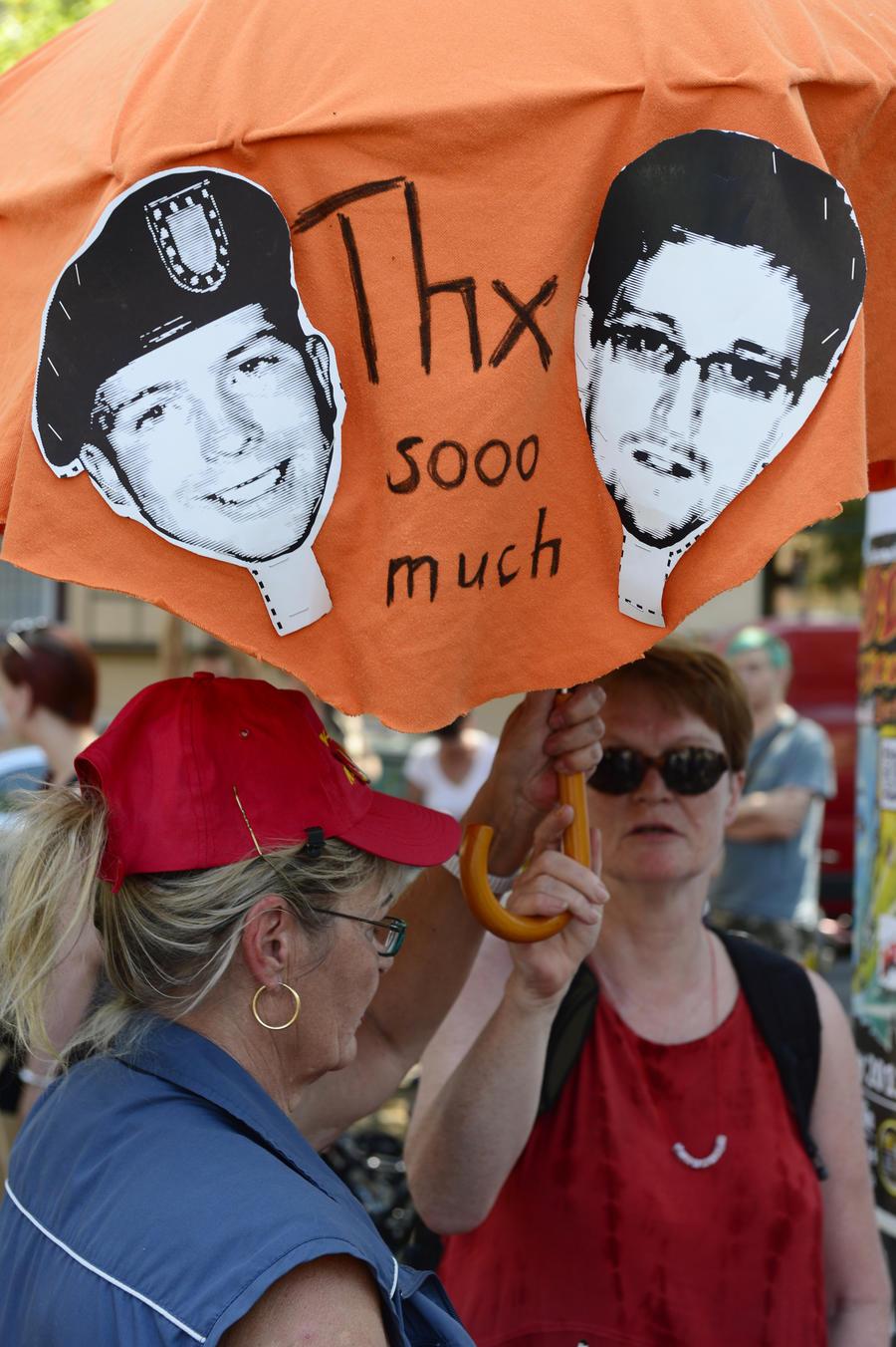 Пиратская партия выдвинула разоблачителей Сноудена и Мэннинг на Нобелевскую премию мира