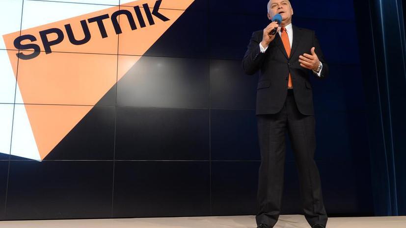 МИА «Россия сегодня» запустило международный мультимедийный бренд Sputnik