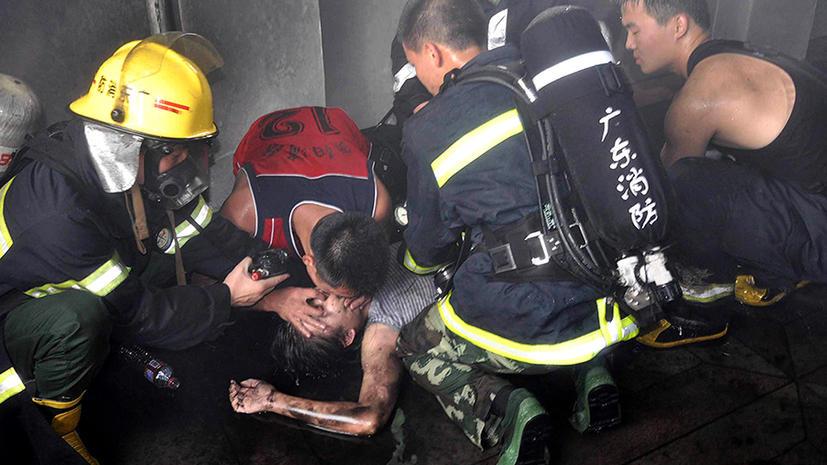 Китаец поджег фабрику из-за невыплаченной зарплаты