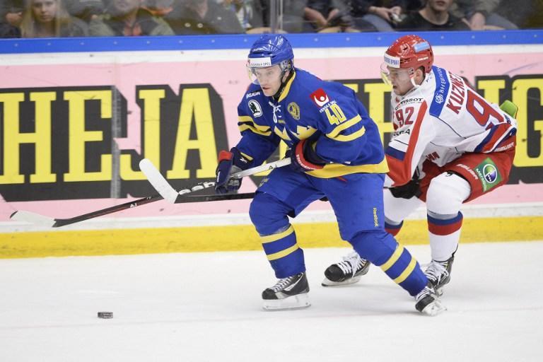 Сборная России проиграла первый матч Чешских игр команде Швеции