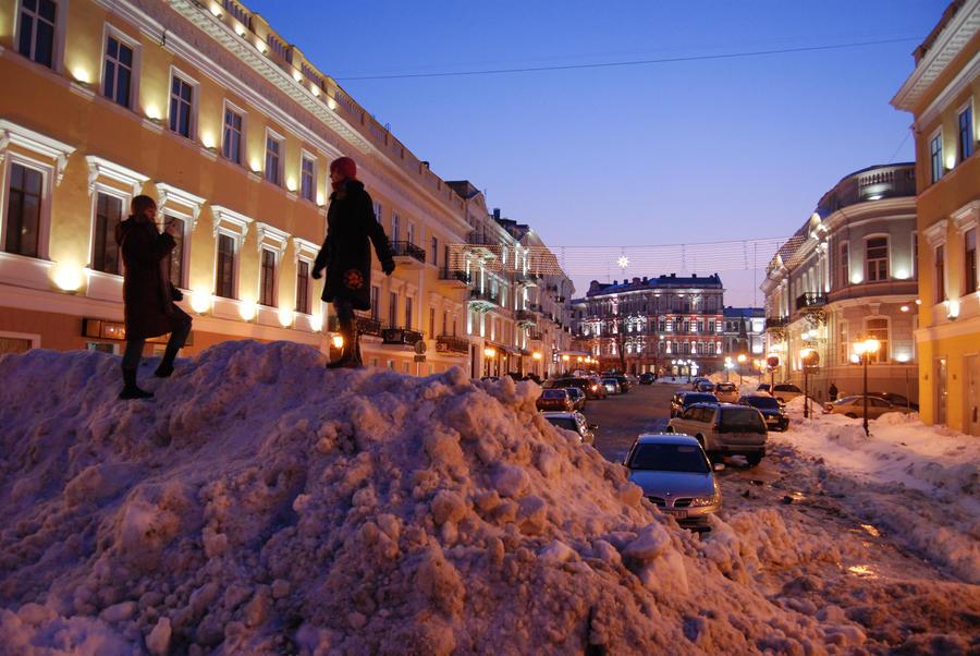 В Одессе протестуют против беспорядков на Украине