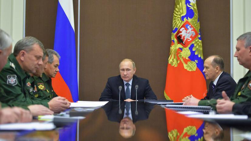 Владимир Путин согласился с предложением прекратить авиасообщение с Египтом