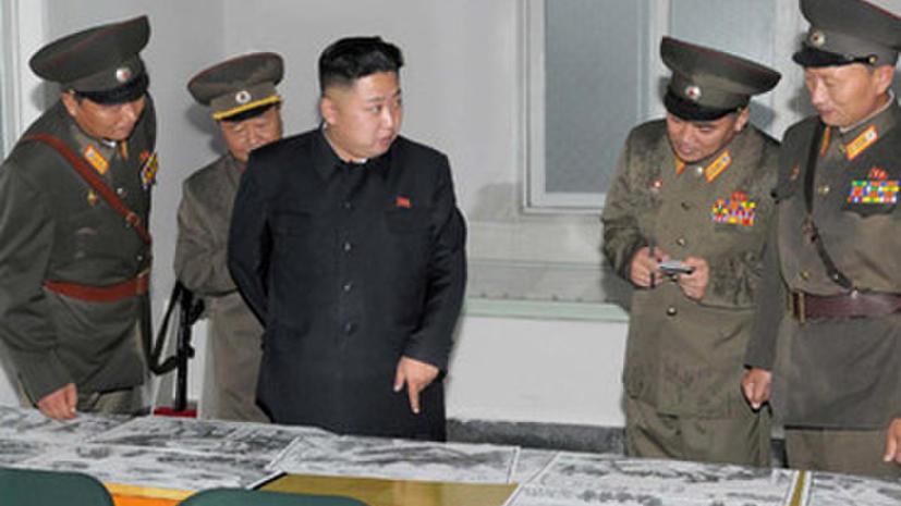Северная Корея обвиняет США в попытке разжечь войну