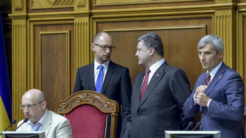 Украина оплатит спецоперацию на востоке страны военным налогом
