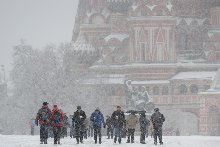 На Москву движется трехдневный мартовский снегопад с 20-градусными морозами