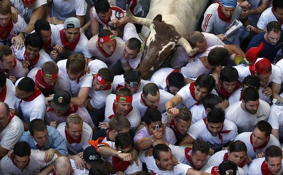 Фестиваль Сан-Фермин в Испании открыли баскские сепаратисты