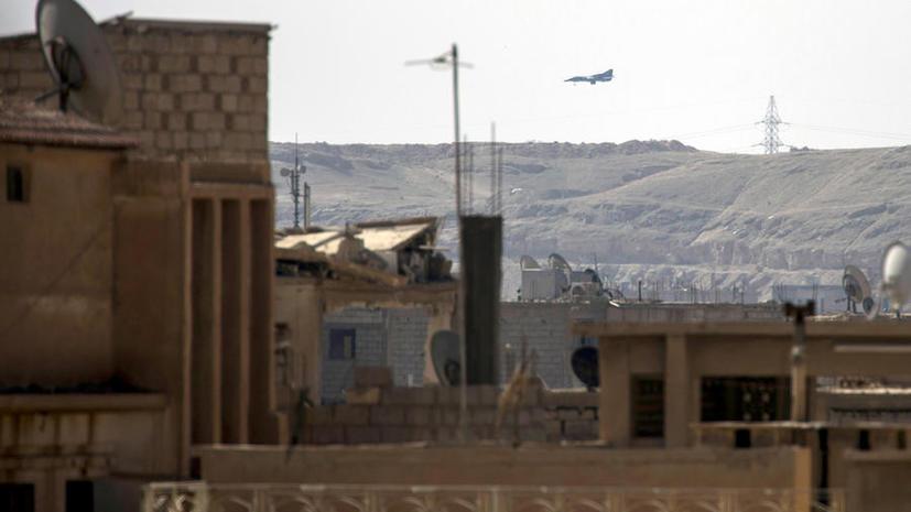 Норвежский генерал усмотрел опасность во всех самолетах над Сирией