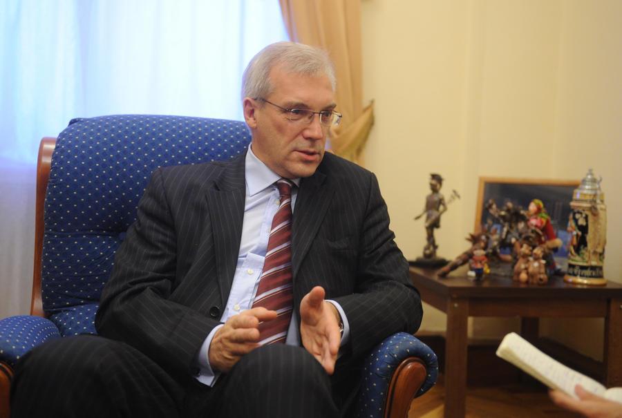 Александр Грушко: Отношения между Россией и НАТО близки к точке замерзания