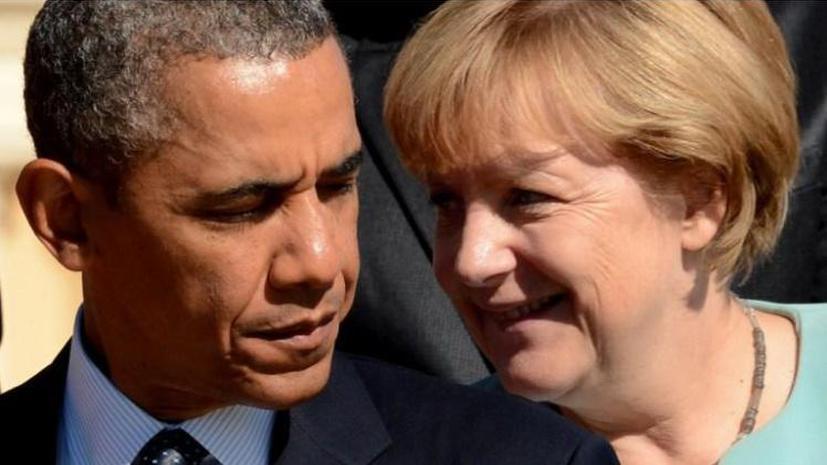 Ангела Меркель посетит США впервые после скандала вокруг АНБ