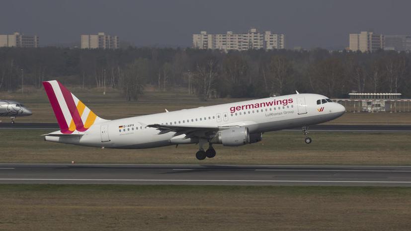 Крушение самолёта Airbus A320 на юге Франции — хронология событий