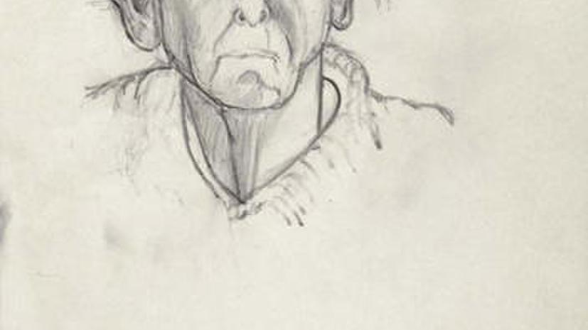 Автопортреты художника открыли ретроспективу болезни Альцгеймера