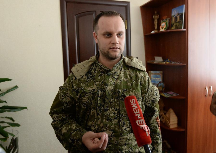 «Народный губернатор» Донецкой области: Мою семью пытались взять в заложники