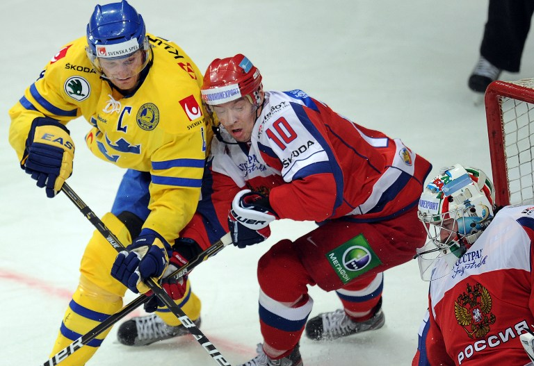 Сборная России разгромила Швецию на старте Кубка Первого Канала