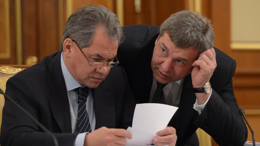 Военная прокуратура просит Шойгу снять главу «Оборонсервиса»