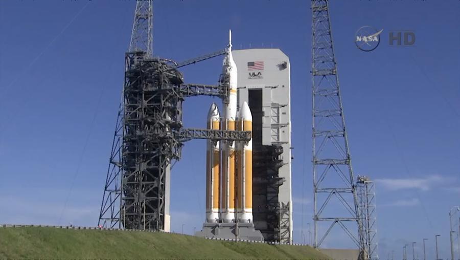 Запуск американского космического корабля Orion отложен на сутки по техническим причинам