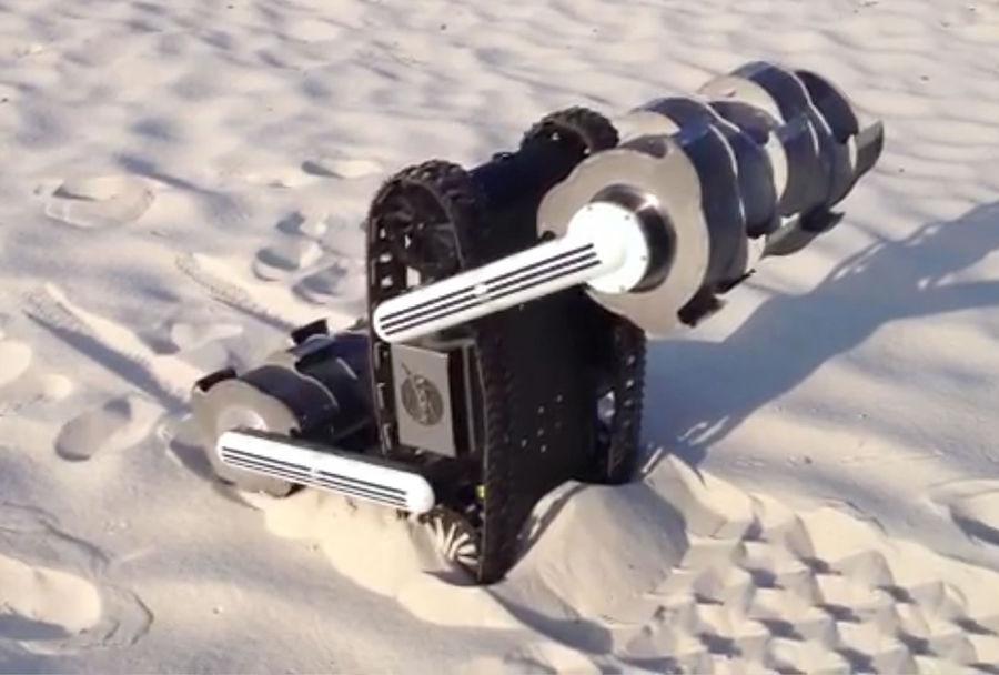 NASA строит лунный экскаватор