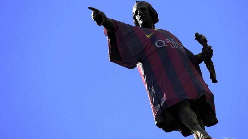 Христофор Колумб стал новым игроком «Барселоны»