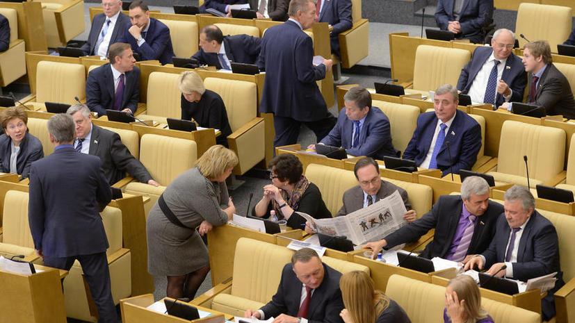 Депутаты одобрили возврат графы «против всех»