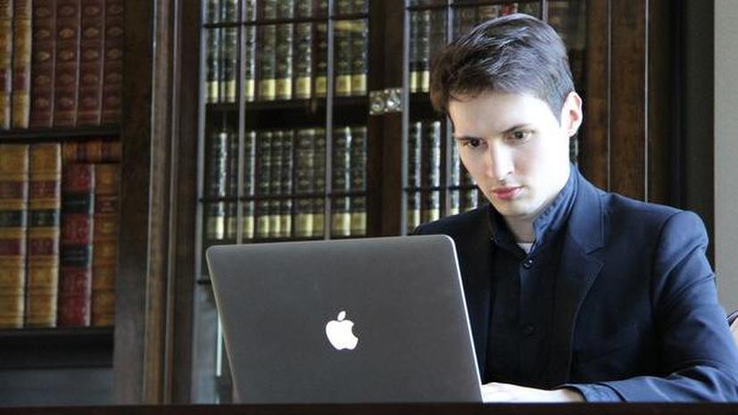 СМИ: Павел Дуров требует признать себя единственным владельцем мессенджера Telegram