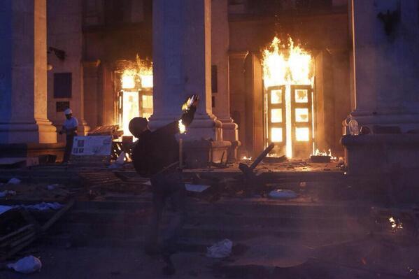 В Госдуме бойню в Одессе сравнили с Хатынью