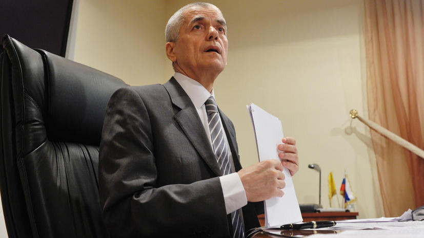 Геннадий Онищенко стал помощником премьер-министра