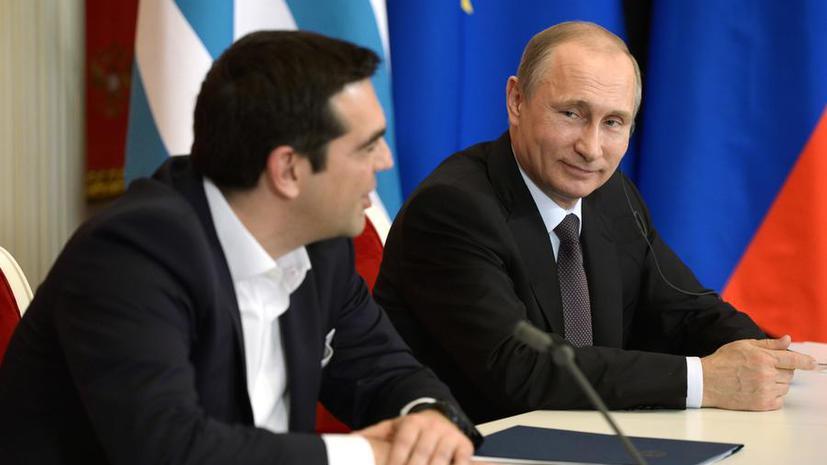 СМИ: Плохие новости для НАТО — Владимир Путин может стать кумиром греков