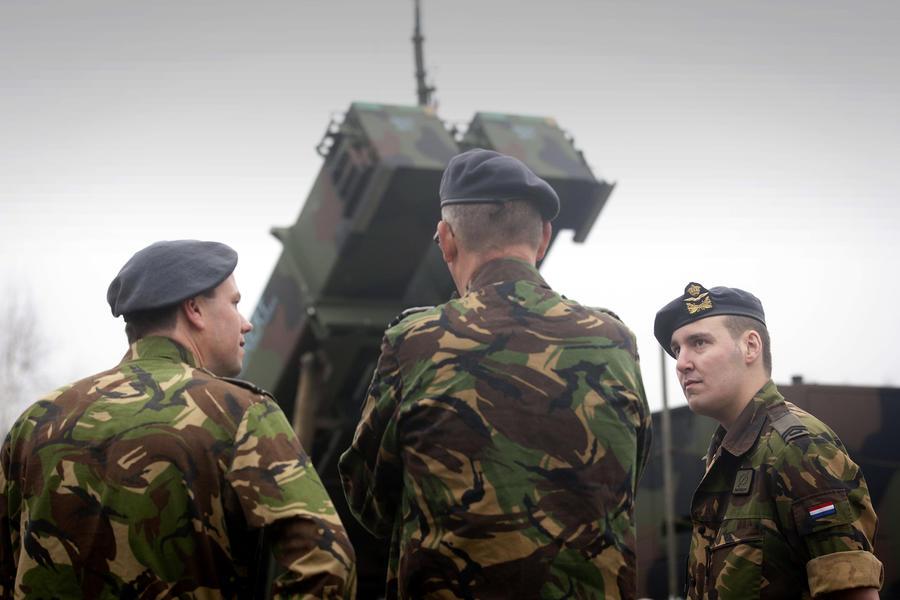 НАТОвские противоракетные комплексы Patriot останутся в Турции ещё на год