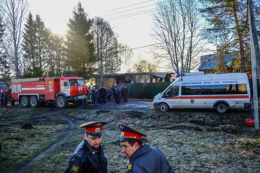 МЧС: Пожарным пришлось ехать на вызов в психиатрическую клинику в объезд из-за закрытой переправы