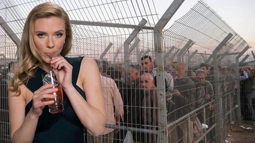 Реклама со Скарлетт Йоханссон оказалась в центре палестино-израильского конфликта