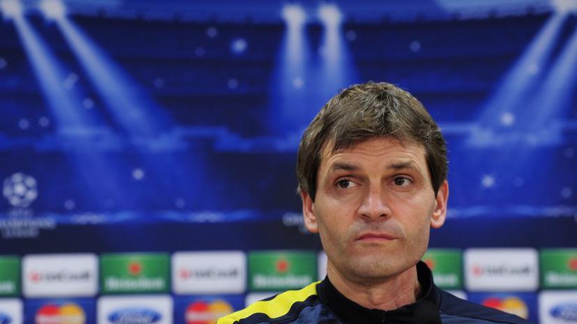 «Барселона» на время осталась без главного тренера