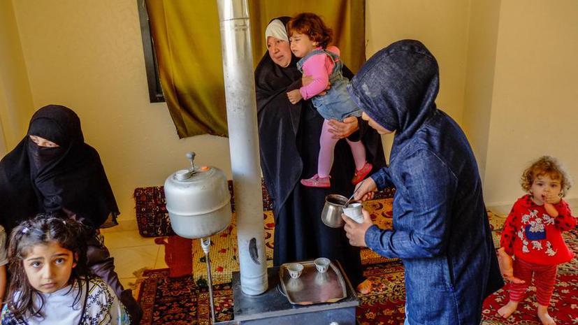 2,5 тыс. палестинских беженцев покинули лагерь Ярмук на юге Дамаска
