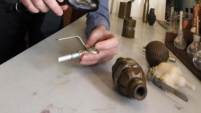 Обезврежена группировка торговцев оружием: изъято 20 бомб и 35 кг взрывчатки