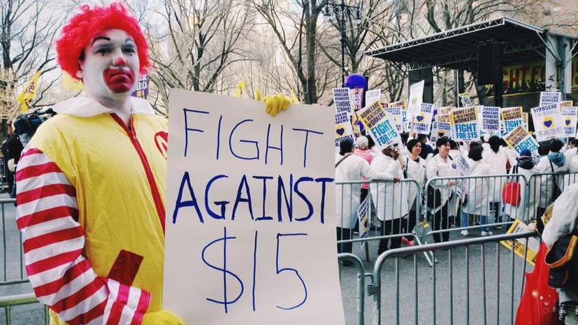 В США на забастовку вышли работники McDonald's