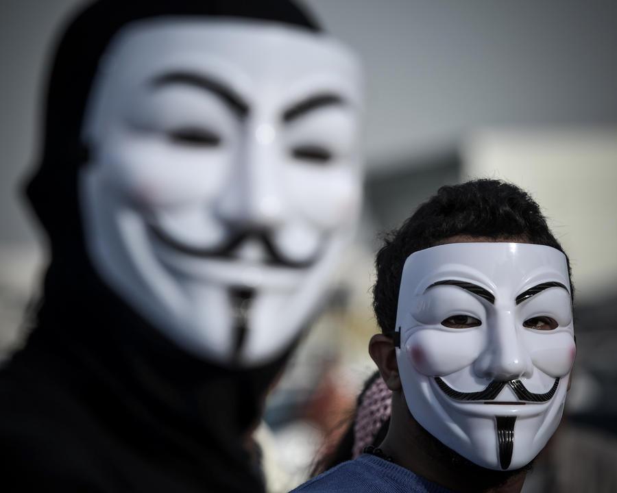 Anonymous планируют изгнать Израиль из интернета
