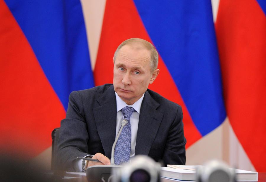 СМИ признали Владимира Путина политиком номер один в мире