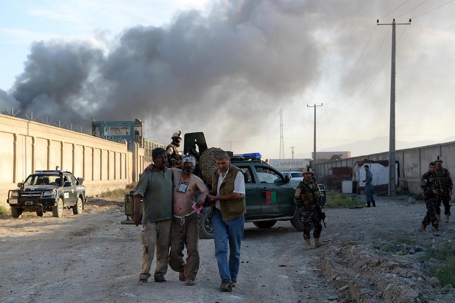 Взрыв у базы НАТО в Кабуле: семеро погибших