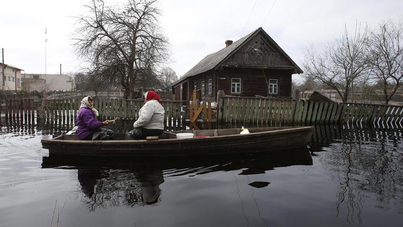 Паводок в Московской области: деревня уходит под воду из-за непрекращающегося дождя