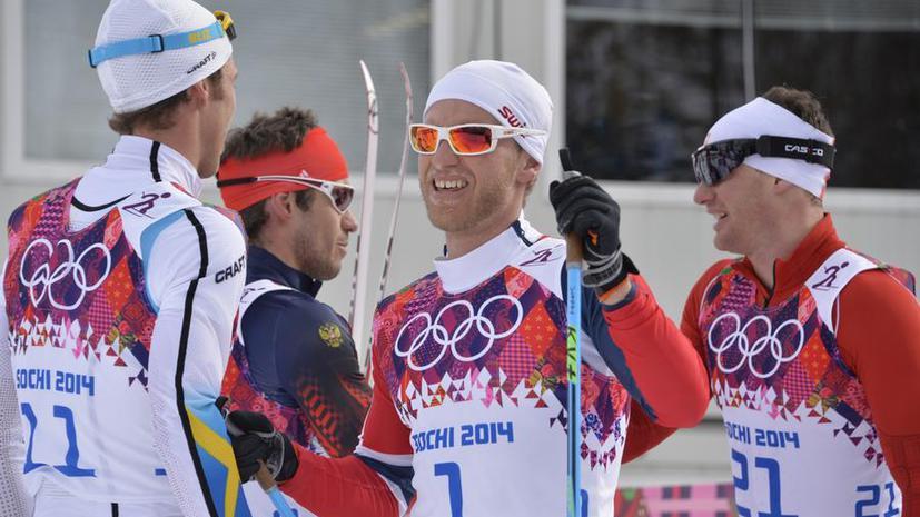 Россия опротестовала итоги мужского скиатлона на Олимпиаде в Сочи