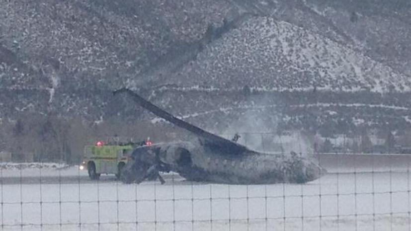 СМИ: В американском штате Колорадо разбился небольшой самолёт, погиб один человек
