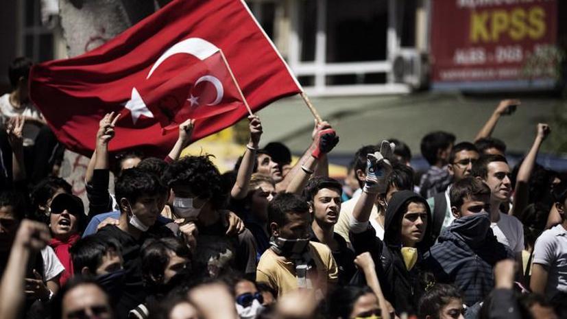 Протесты в Турции бушевали пять дней