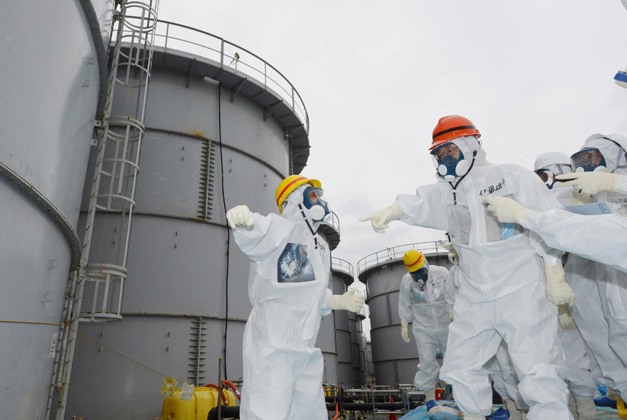 На Фукусиме выявлены утечки сразу на 11 участках